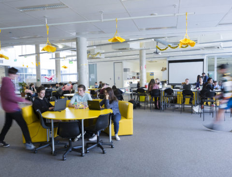 Innovative Learning Environments & student experiences.